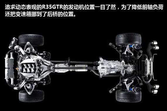 GTR的四驱是为了获得更好的弯道表现,大部分驱动力仍然分配给后轮