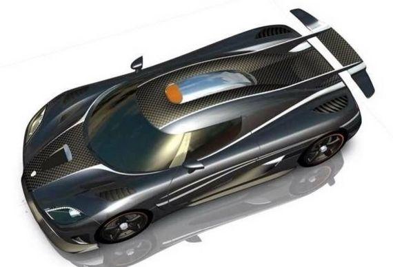 柯尼塞格ONE超级跑车