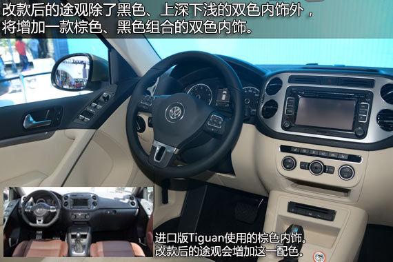 国产途观对比进口Tiguan图片