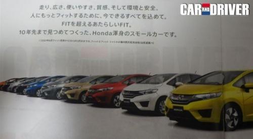 全新本田飞度最新宣传图 将亮相东京车展