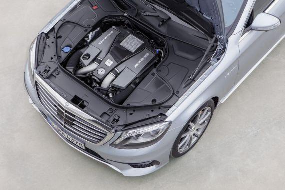新款奔驰S63 AMG发布 将亮相法兰克福车展