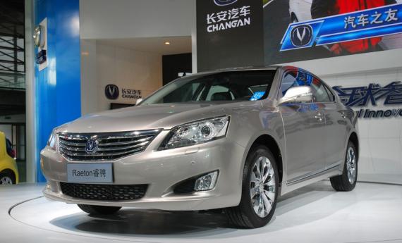 长安睿骋是2013年长安汽车首发的车型,同时也是长安汽车首款中级车高清图片