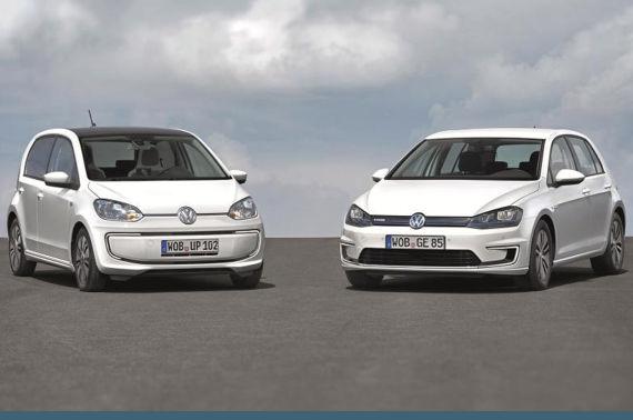 大众将在法兰克福车展推出e-Golf和e-Up