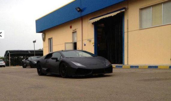 Lamborghini Cabrera Spy 01
