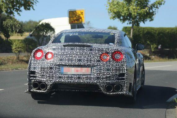 Nissan GT-R Nismo Spy 06