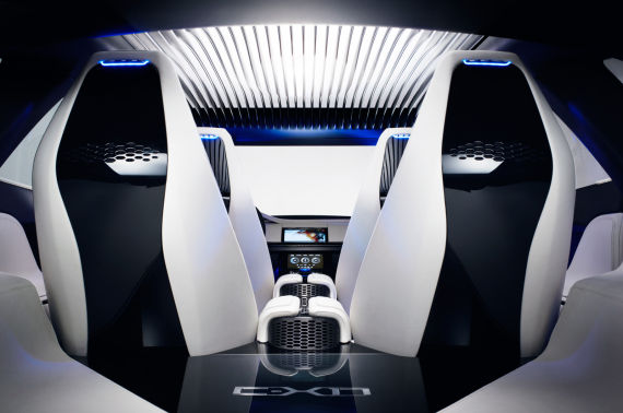 捷豹SUV概念车C-X17