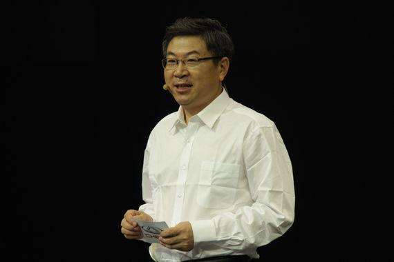 奇瑞汽车有限公司党委书记、董事长兼总经理 尹同跃致词