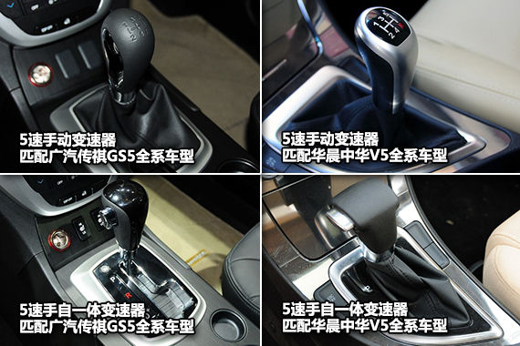 传祺GS5/中华V5变速器