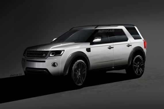 Land Rover 神行者