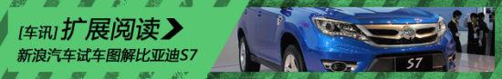 新浪汽车试车图解比亚迪S7