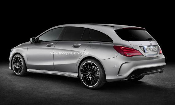 梅赛德斯-奔驰(Mercedes-Benz)猎装版(Shooting Brake)