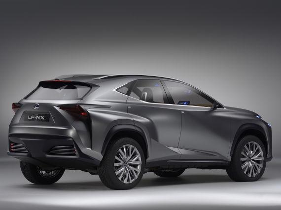 雷克萨斯LF-NX概念车增压版