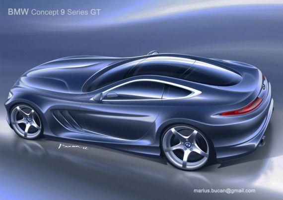 或搭载6.0升V12发动机 宝马9系GT版曝光