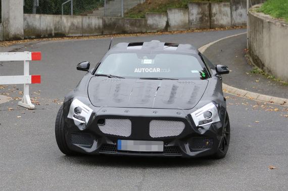 Mercedes-Benz GT AMG Spy 01
