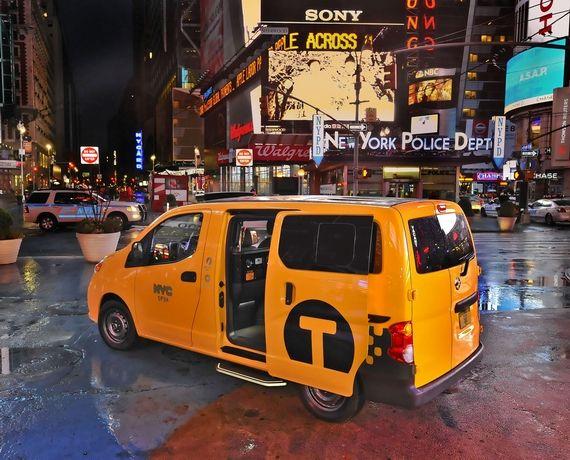 NISSAN NV200纽约出租车
