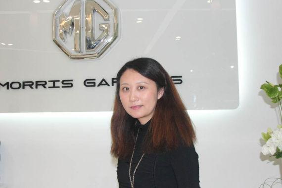 上汽MG品牌总监林嘉瑜