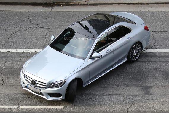Mercedes-Benz C-Class Spy 06