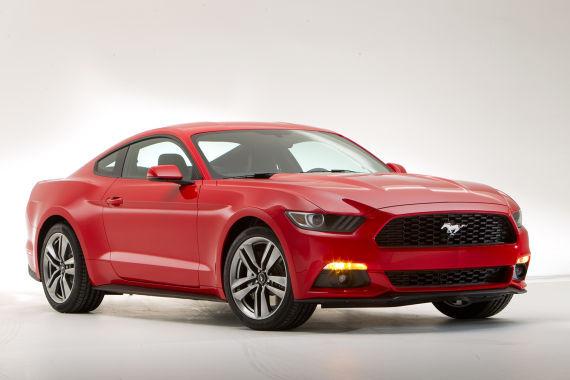 福特全新一代野马-2014北美车展新车 福特全新野马高清图片