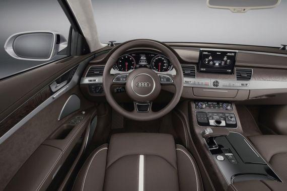 2015款美版奥迪A8/奥迪S8 亮相北美车展