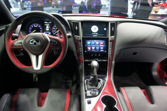 英菲尼迪Q50 Eau Rouge概念车北美车展首发