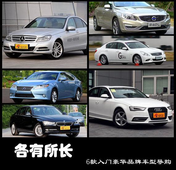 各有所长 6款入门豪华品牌车型导购