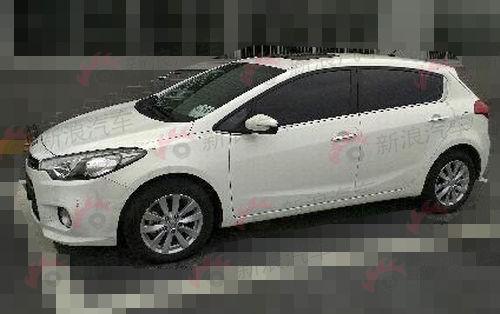北京车展首发 东风起亚K3S无伪谍照曝光