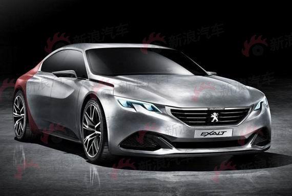 搭载混动 标致Exalt概念车将亮相北京