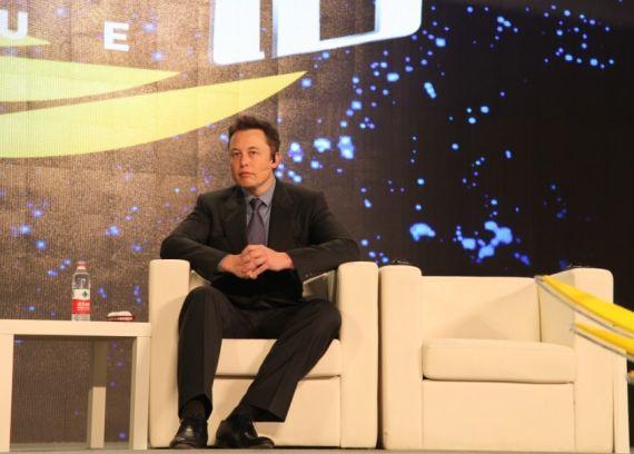 特斯拉汽车CEO Elon Musk