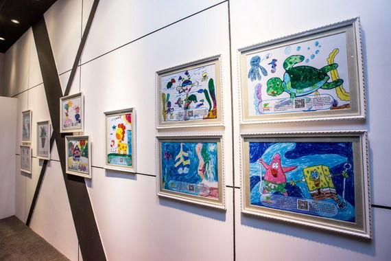 """4-英菲尼迪""""艺术北京2014""""自闭症儿童画作主题展览"""