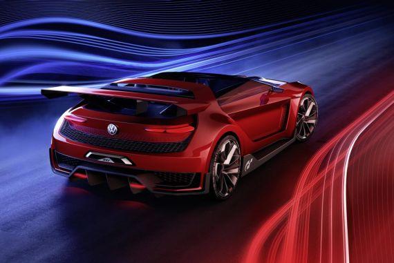 大众GTI Roadster敞篷概念跑车发布