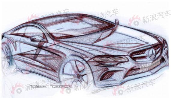 奔驰将在2017年推出新一代E级Coupe双门轿跑车