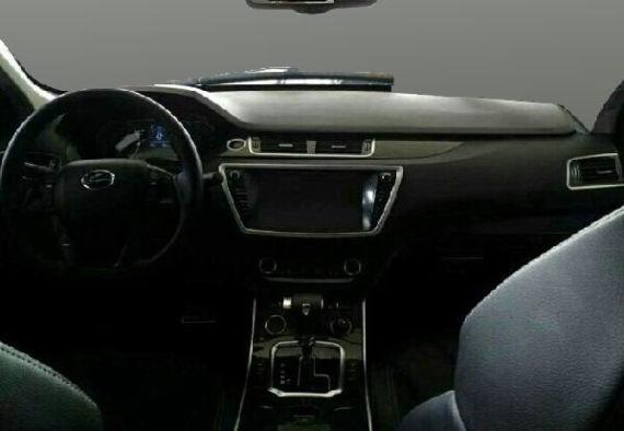 高仿极光 陆风X7全新SUV车型实拍谍照