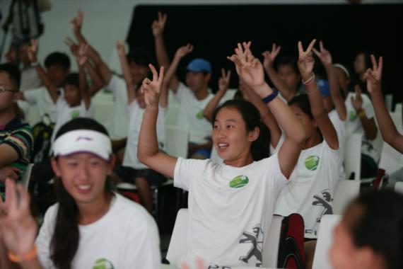 """东风标致""""未来大师""""中国青少年业余网球赛正式开启"""