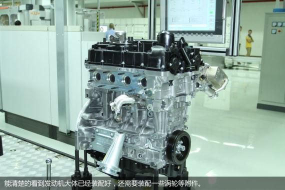 N20发动机装配车间-宝马N20发动机首次国产正式在绵阳投产