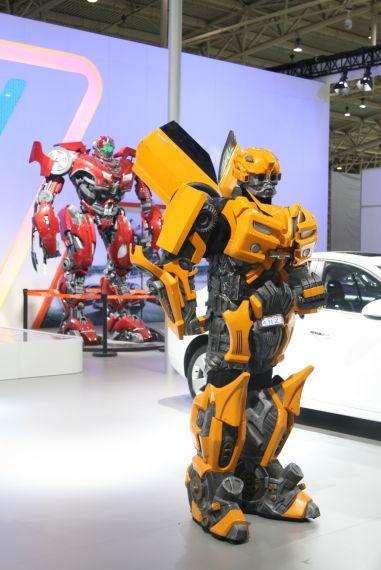 上海通用汽车展台