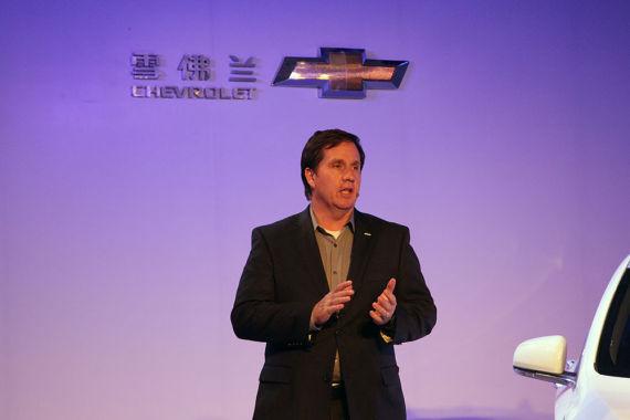 雪佛兰全球设计执行总监Ken Parkinson