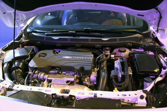雪佛兰全新一代科鲁兹引擎