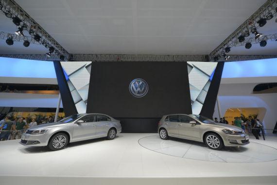 """一汽-大众以""""创新,为生活更美好""""为主题携全系高品质车型亮相长春车展"""