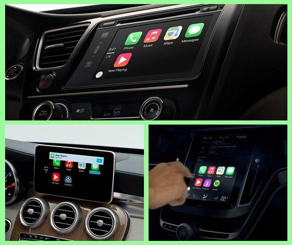 苹果CarPlay分别在本田、奔驰和沃尔沃车型上的应用案例