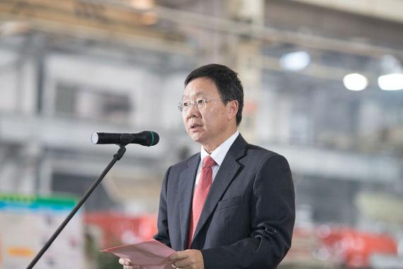 东风柳州汽车有限公司总经理程道然先生