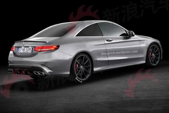 全新奔驰C63 AMG双门轿跑车