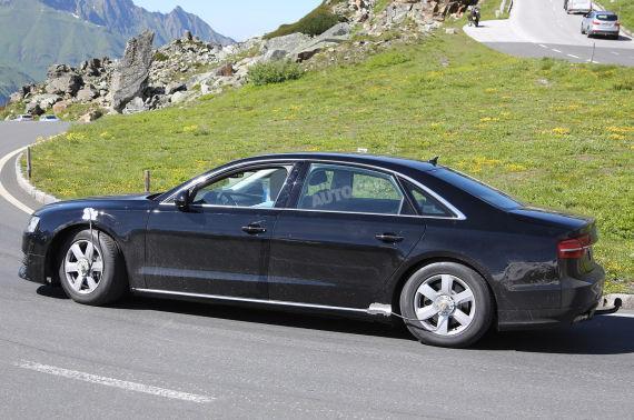 Audi A8 Spy 04