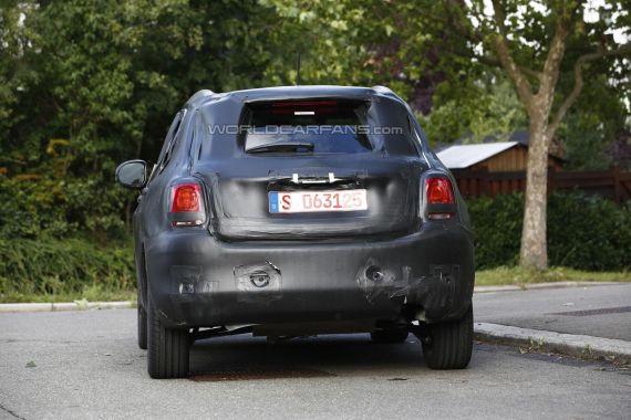 Fiat 500X Spy 05