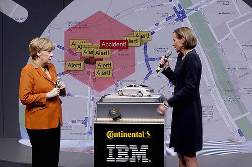 IBM与大陆集团合作开发联网汽车解决方案