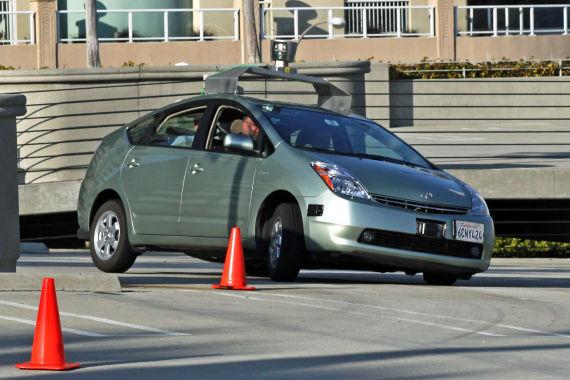 谷歌无人驾驶车