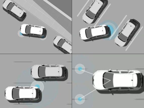 主动泊车、盲点监测、LKA车道保持系统等高科技配置