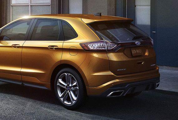 新一代福特锐界尾部造型采用全新的设计理念