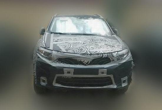 谍照曝光 东南汽车全新SUV将推5座 7座版高清图片
