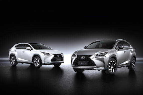 雷克萨斯全新中型豪华SUV――NX启动预售