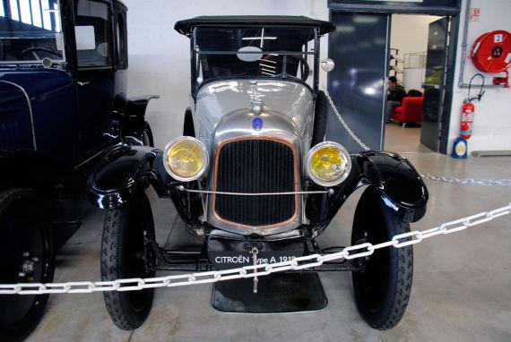 雪铁龙首款轿车Type-A